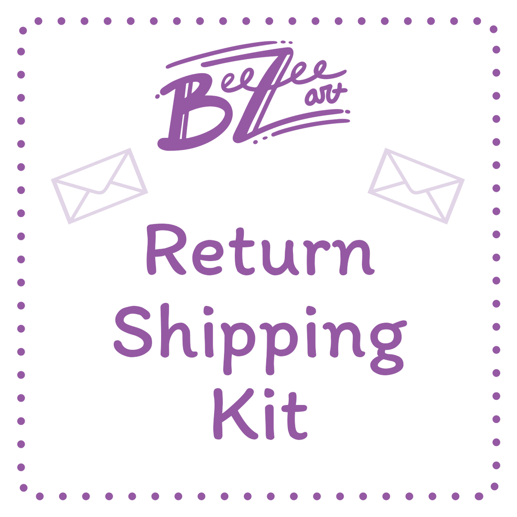Return Shipping Kit, Services, BeeZeeArt