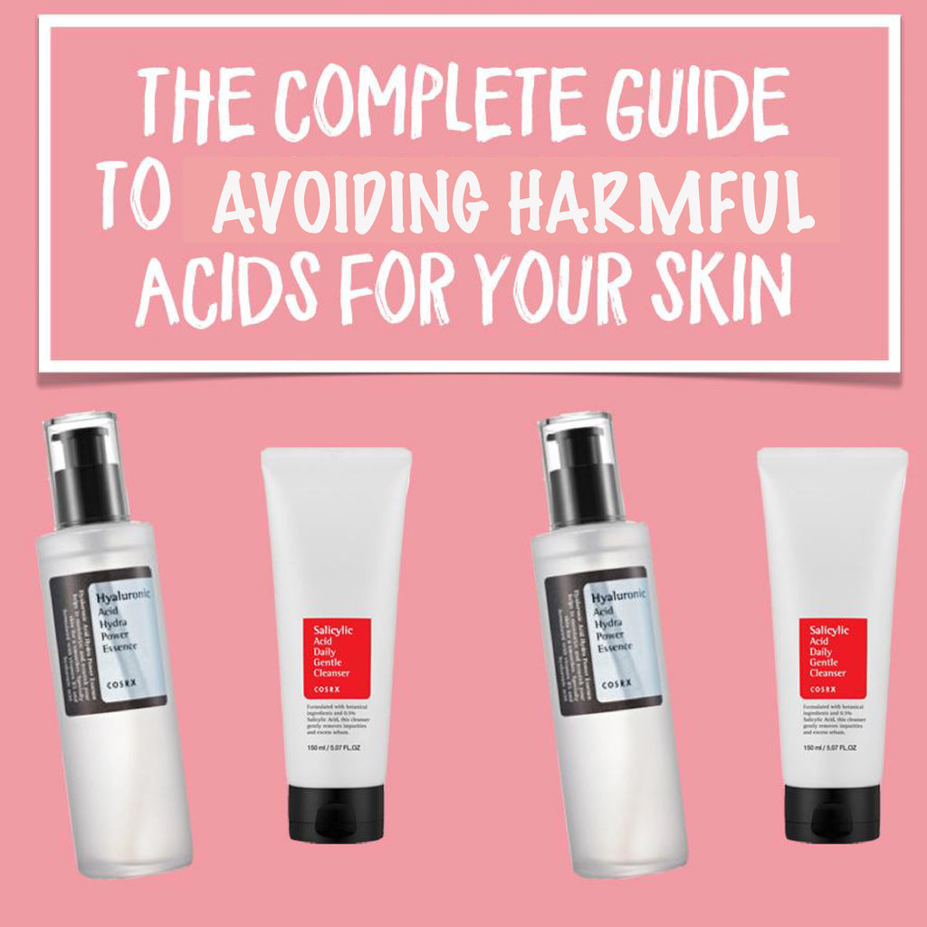 Acids in Skin Care - Are Acids Safe?