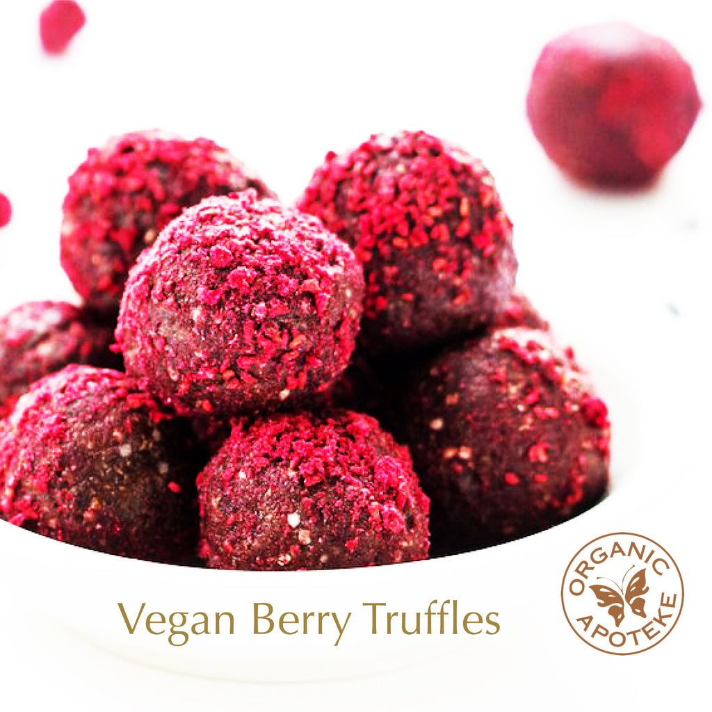 Vegan Berry Truffles Recipe
