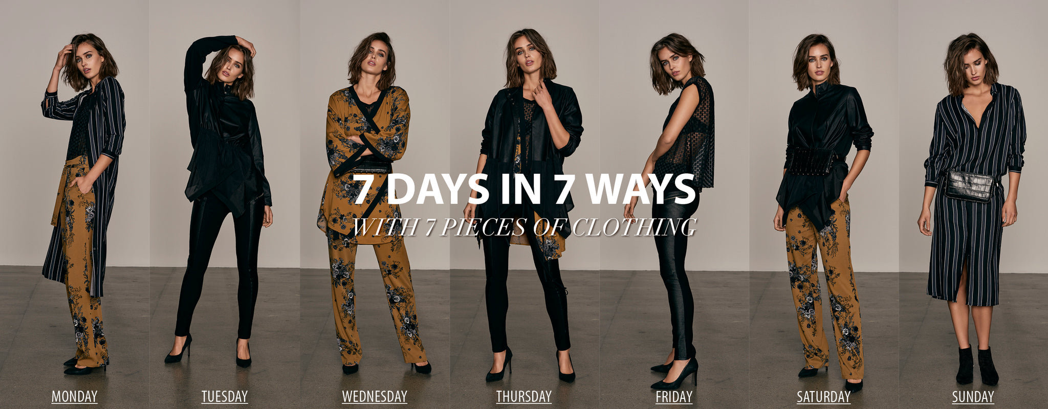 7 Days in 7 Ways Stylingguide