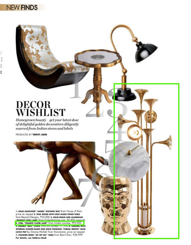 Ivanka Lumiere in Elle Decor