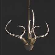 ANTLER'S HORN MINI CHANDELIER
