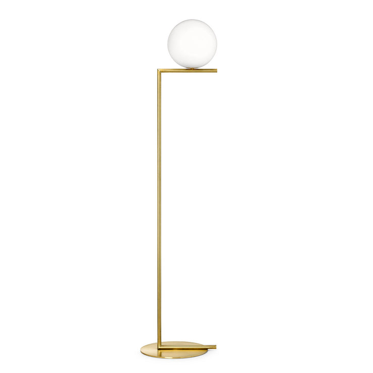 Modern Minimal Brass Floor Lamp | Flos IC lights Floor Lamp Replica