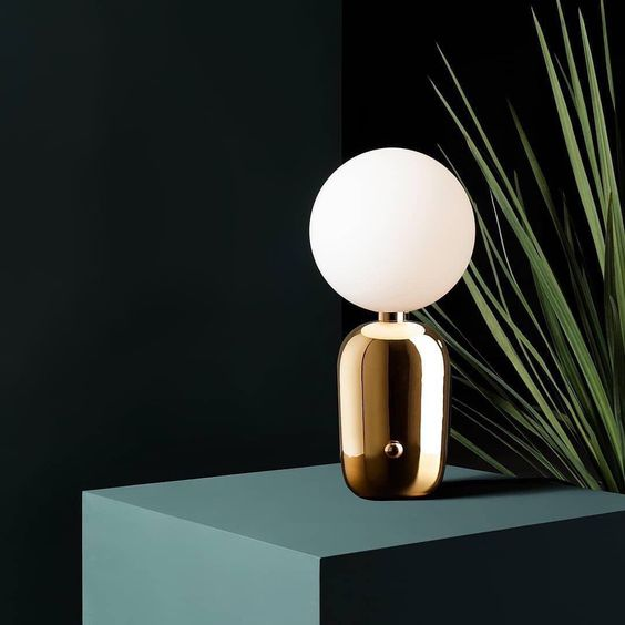 Allier Gold Table Lamp | Ivanka Lumiere