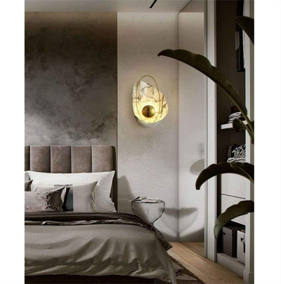 White Pearl Wall Lamp