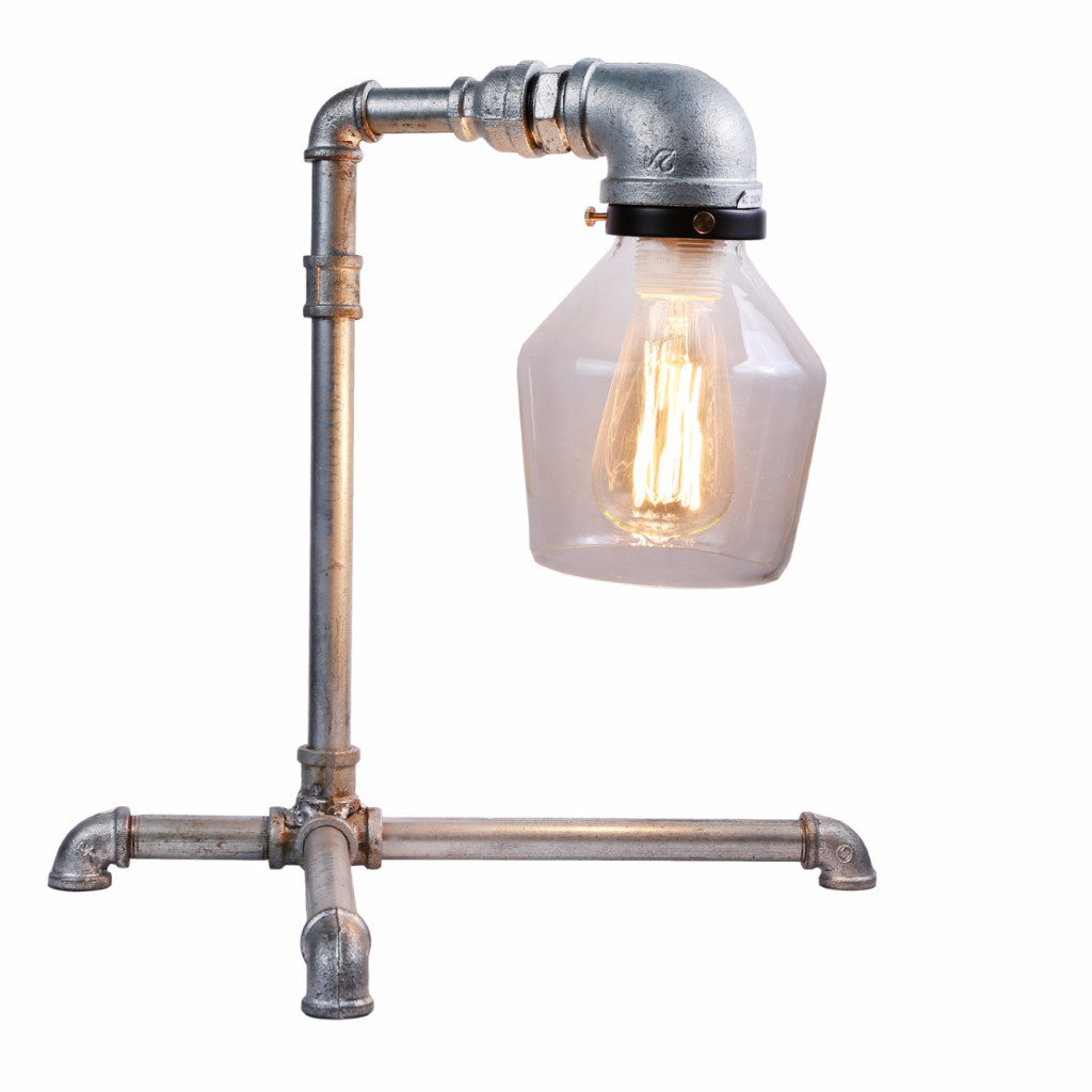 Industrial Zinc Finish Table Lamp - Ivanka lumiere