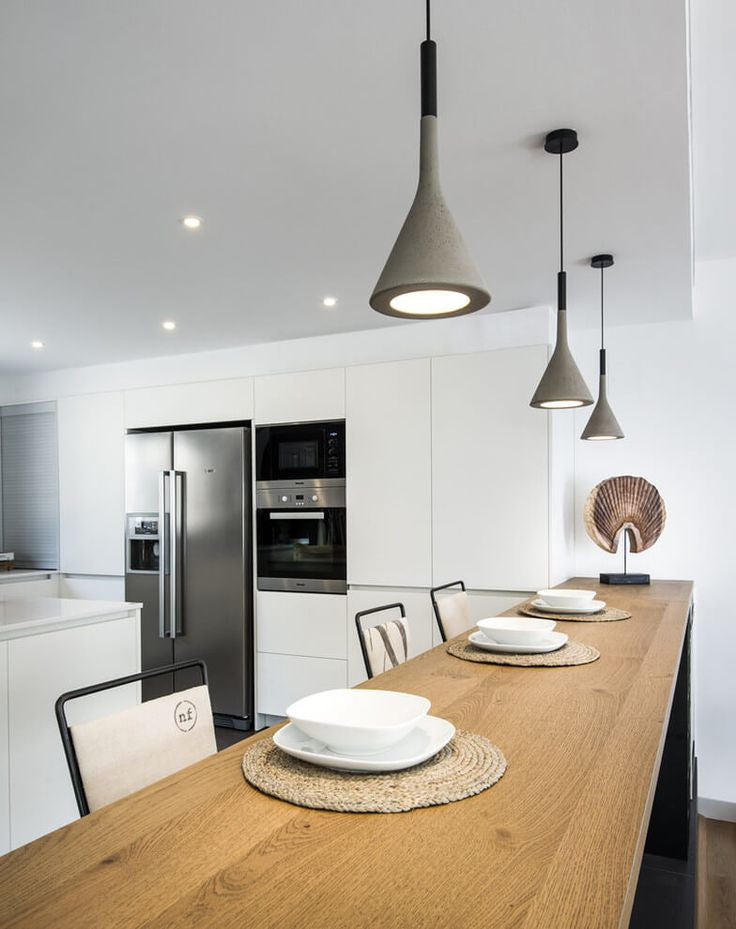 Concrete Pendant Grey