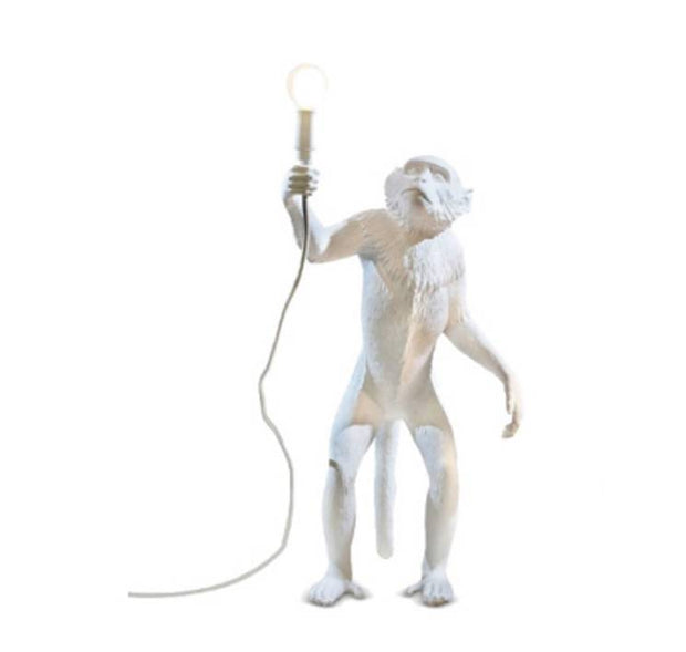 White Monkey Floor Light I Seletti Replica
