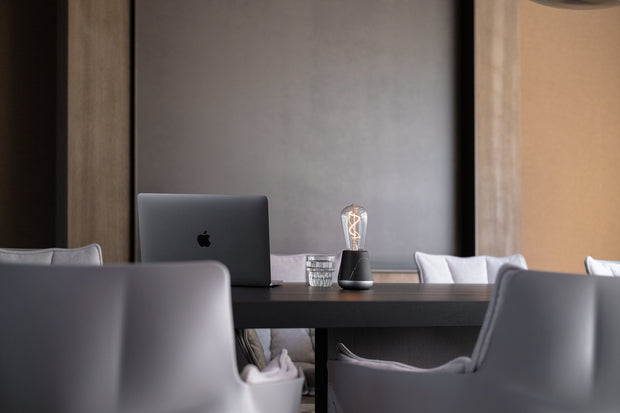 Humble One Table Light Dark Grey | Ivanka Lumiere