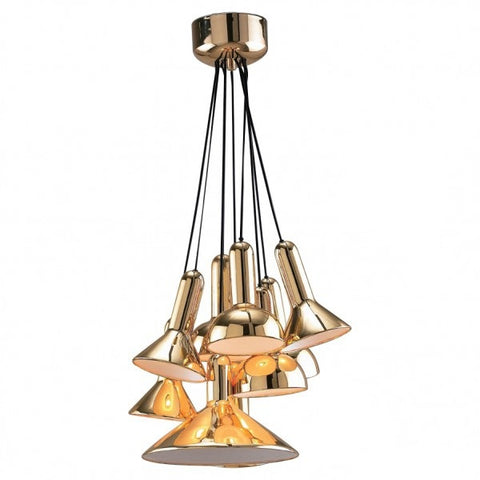 Torch Pendant Light Cluster of 10