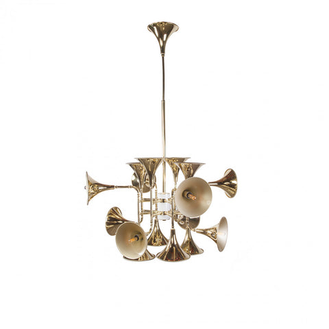 TRUMPET HANGING LIGHT SMALL