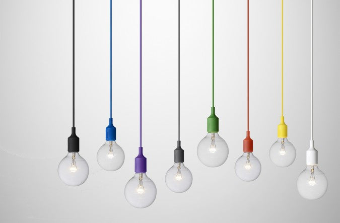Colorful Pendant Cord CFL or LED - Ivanka lumiere  - 4