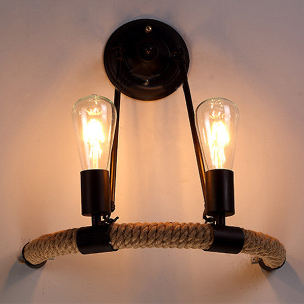 Half Round Industrial Wall Light - Ivanka lumiere  - 4