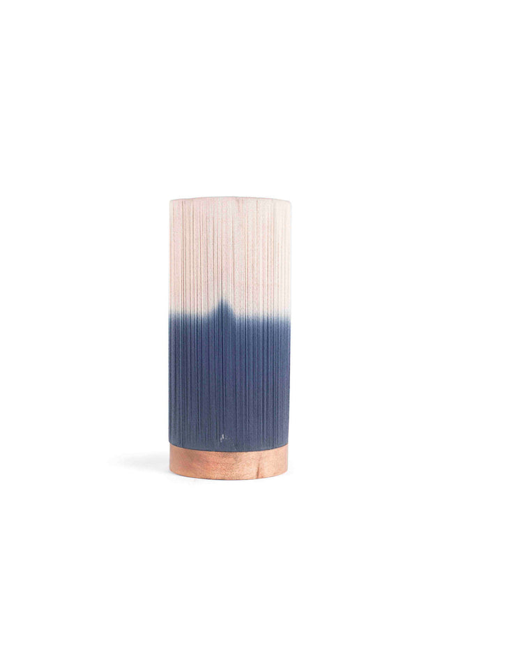 Ombre Table Lamp Cylindrical Cotton Shade