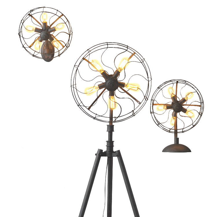 Industrial Fan Lamp Series - Ivanka lumiere  - 1
