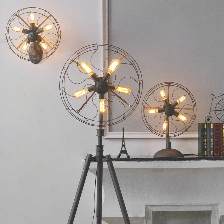 Industrial Fan Lamp Series - Ivanka lumiere  - 2