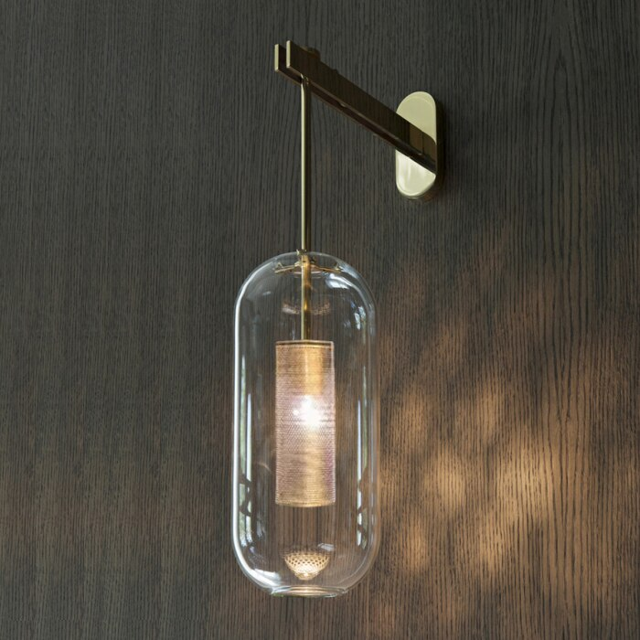 One-Light Armed Sconce