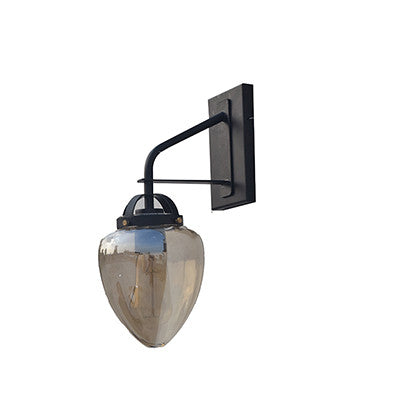 Textured  Glass Wall Light - Ivanka lumiere  - 1