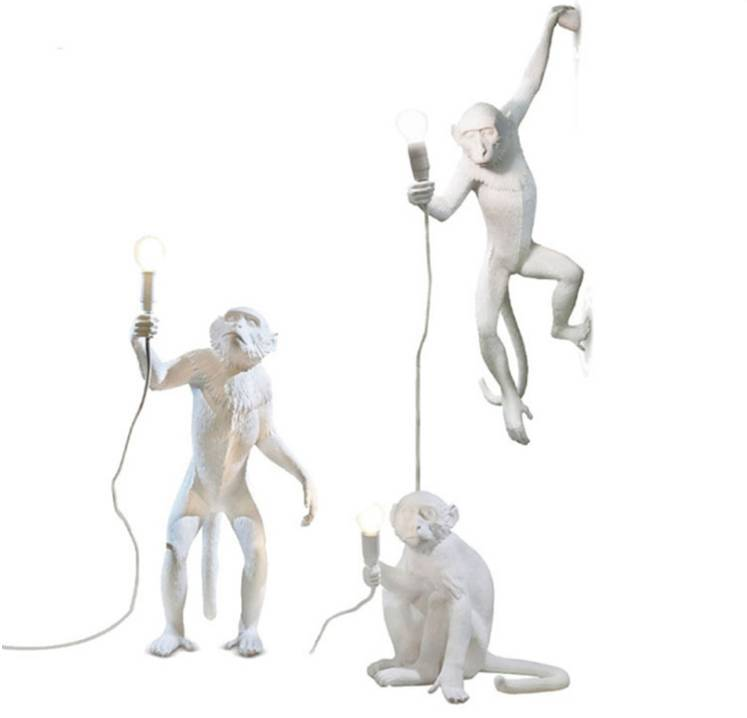 White Monkey Light I Seletti Replica