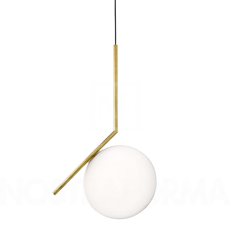Minimal gold pendant light | Flos IC lights High quality Replica