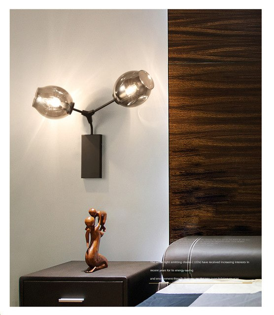 Branched Bubble Wall Light