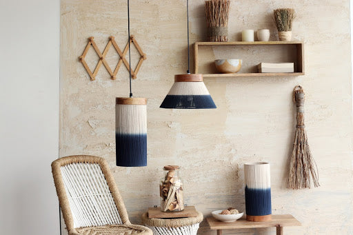 Ombre Hanging Lamp Cylindrical
