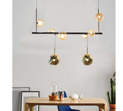 STAGGERED PENDANT LIGHT
