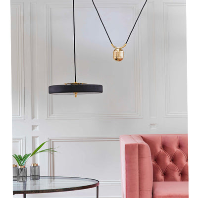 REVOLVE BLACK  PENDANT LIGHT