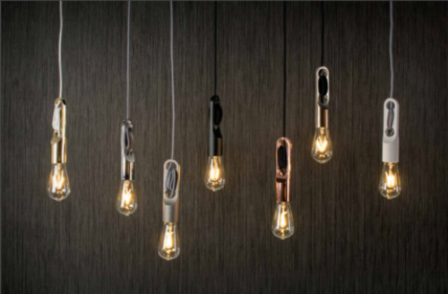 Wickle Suspension - Black Pendant