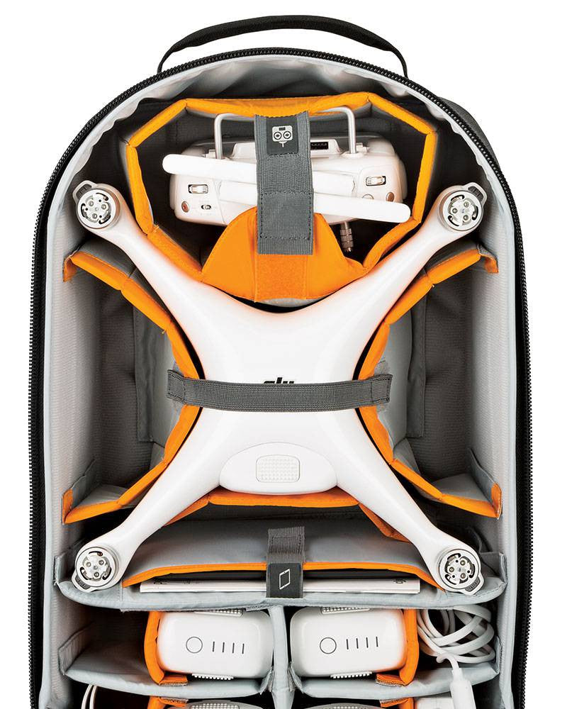 DroneGuard BP 400 Backpack for DJI Phantom Series
