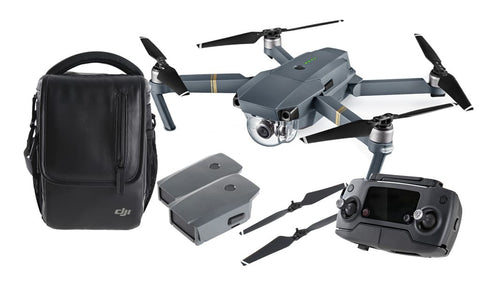 DJI Mavic Pro Combo Kit (DJI Refurbished)