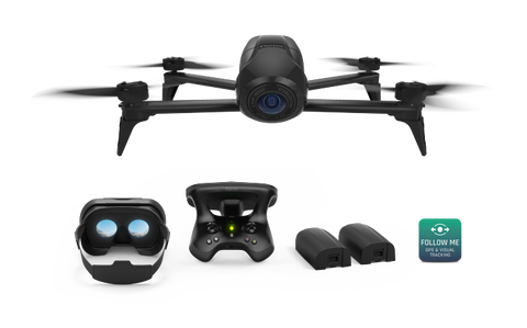 Parrot Bebop 2 Power Edition FPV Kit Includes R/C + FPV Goggles