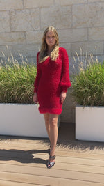 andreeva handmade knit dress