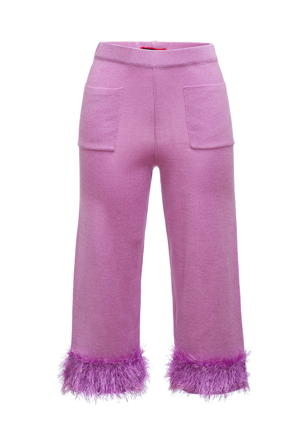 andreeva lavender knit pants