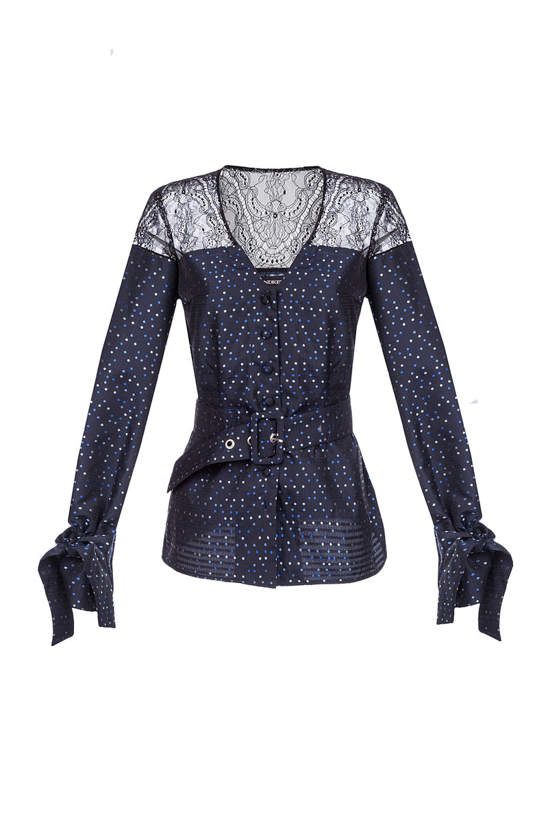 andreeva cotton blouse