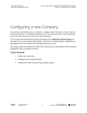 BBCG.02.01.D365.2.PDF: Configuring an Organization within Dynamics 365 Finance (Second Edition)- Module 1: Configuring a new Company (Digital)