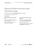 BBCG.04.01.D365.2.PDF: Configuring the Cash and Bank Management within Dynamics 365 for Operations (Second Edition) - Module 1: Configuring the Controls (Digital)