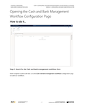 BBCG.04.03.D365.2.PDF: Configuring the Cash and Bank Management within Dynamics 365 for Operations (Second Edition) - Module 3: Configuring Advanced Bank Reconciliation (Digital)
