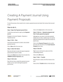 BBCG.06.04.D365.WG.1.PDF: Configuring Accounts Payable within Dynamics 365 for Operations - Module 4 Configuring Vendor Payments (Digital)