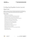 BBCG.06.05.D365.WG.1.PDF: Configuring Accounts Payable within Dynamics 365 for Operations - Module 5 Configuring Payables Invoice Journal Approvals (Digital)