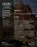 BBCG.03.06.AX2012.2.PDF: Configuring Allocation Rules within Dynamics AX 2012 - Second Edition (Digital)