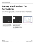 CB.13.D365.2.TNG.PDF: Developing New Workspaces within Dynamics AX (Thumbnail Guide) (Digital)