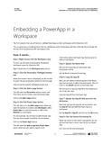 DO.03.D365.1.PDF Embedding Full Page Power Apps and Web Pages into Workspaces Walkthrough (Digital)