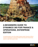IG.05.D365.1.PDF: A Beginners Guide To Dynamics 365 for Finance & Operations, Enterprise Edition (Digital)