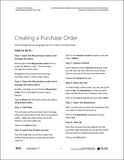 BBCG.09.03.D365.WG.1.PDF: Configuring Procurement and Sourcing within Dynamics 365 for Operations - Module 3: Processing Purchase Orders (Digital)