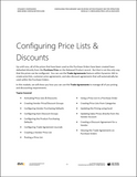 BBCG.09.04.D365.WG.1.PDF: Configuring Procurement and Sourcing within Dynamics 365 for Operations - Module 4: Configuring Price Lists & Discounts (Digital)