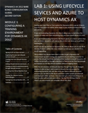 BBCG.01.01.AX2012.2.TNG.PDF: Using Azure And Lifecycle Services To Host Your Dynamics AX 2012 Training System (Thumbnail Guide) (Second Edition) (Digital)