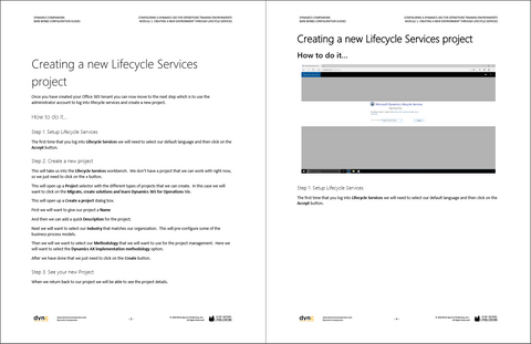 BBCG 02 01 D365 1 PDF: Configuring A New Legal Entity Within Dynamics 365  for Operations - Module 1: Creating A New Legal Entity (Digital)