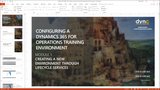 BBCG.01.01.D365.1.PPT: Configuring a new Dynamics 365 for Operations Training Environment - Module 1: Creating a new Environment through Lifecycle Services (PowerPoint)