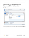 TIP.002.AX2012.1.PDF: Require Users To Review Production Documents Before Starting Jobs within Dynamics AX 2012 (Digital)